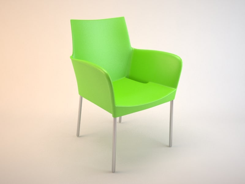 3d ice chair