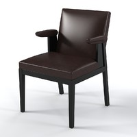 Christian Liaigre Side Chair