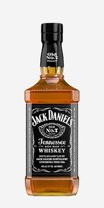 bottle whiskey jack daniel 3d model