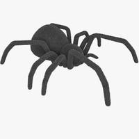 Radio Controlled Black Widow Spider Fur