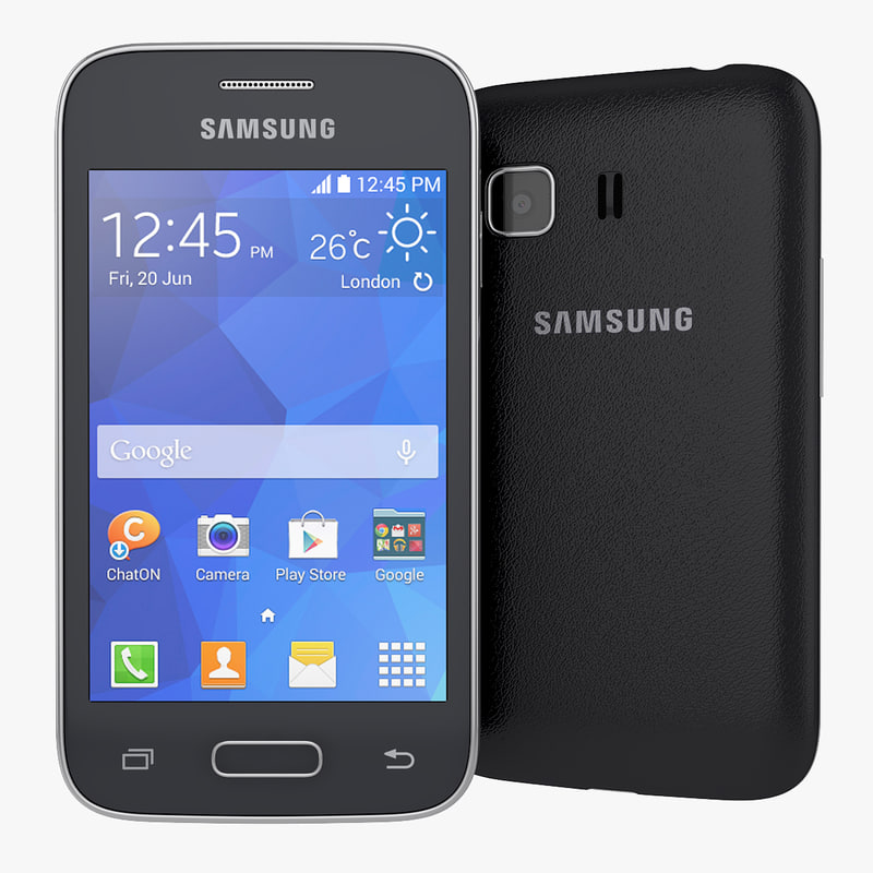 3d smartphone samsung galaxy young