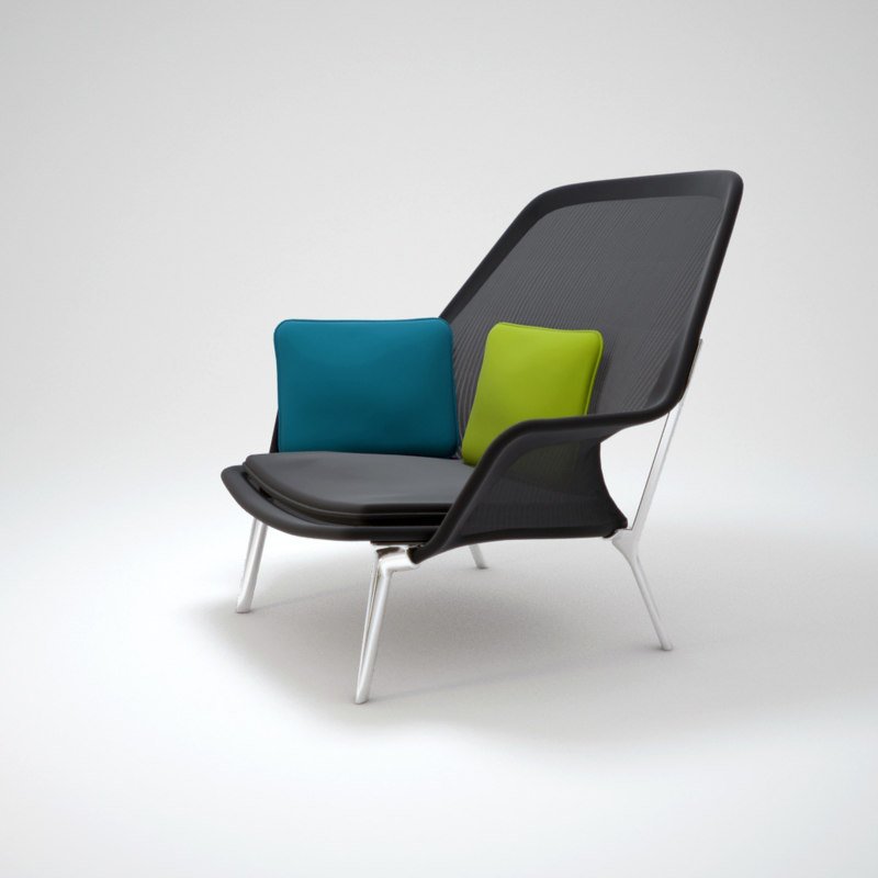slow chair 3d model
