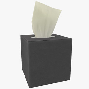 3d tissue box 2 model