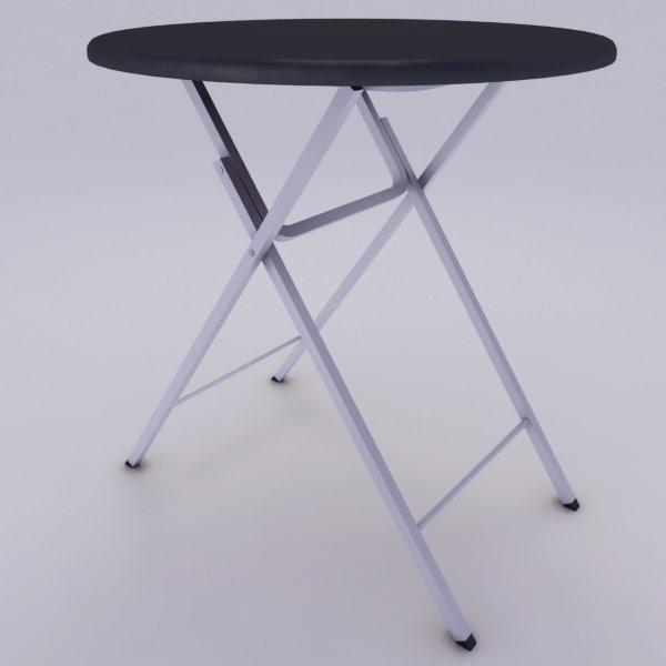 max table folding