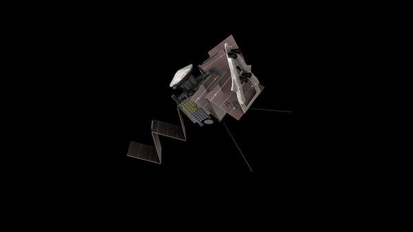 3d model spacecraft space jupiter