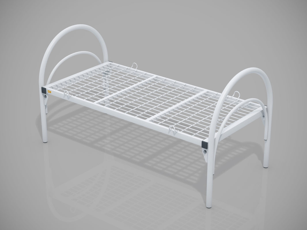 3d model medical bed frame