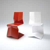 orizuru-chair 3d model
