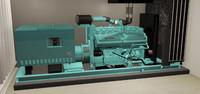 Cummins Plant Generator Engine