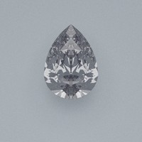 Pear Cut Gemstone Diamond