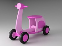 scooter toy 3d 3ds