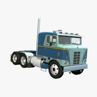 3d bullnose truck