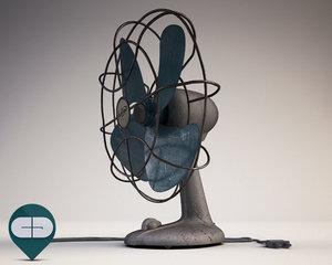 3d fan old model