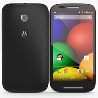 Motorola Moto E Black Elements 3D