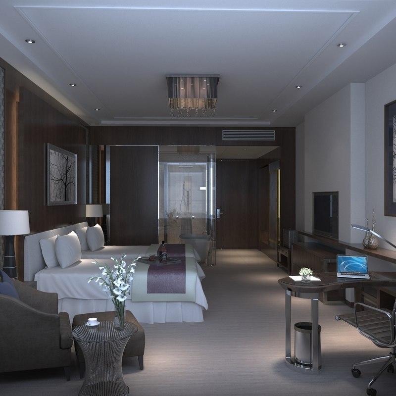 hotel suite 3d x