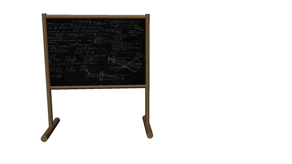 3d model maths board