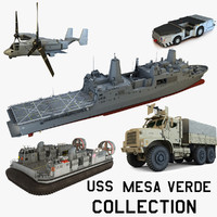 USS Mesa Verde Collection