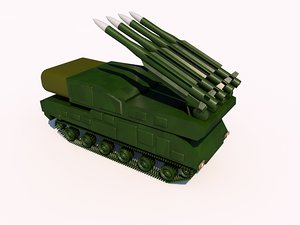 buk missile systems 3ds