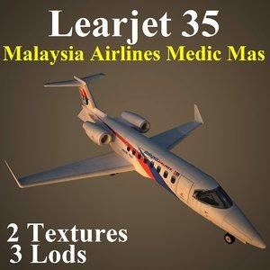 learjet ma2 aircraft max