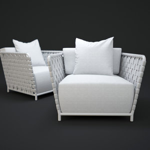 3d model inout-801-fw-chair
