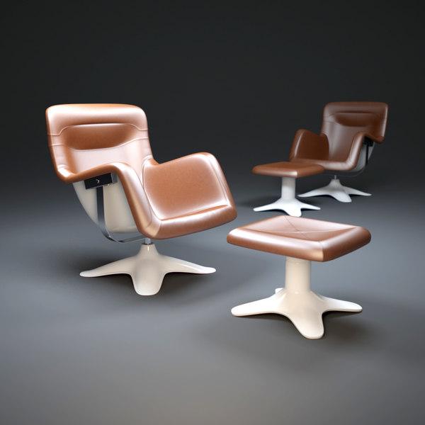 3d karuselli-armchair