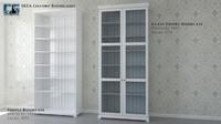ikea liatorp bookcases 3ds