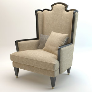 bizzotto montmartre armchair 3d max