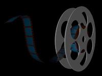 3d model film reel