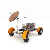 3d model lunar rover