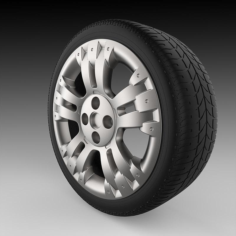 3ds max wheel adventure