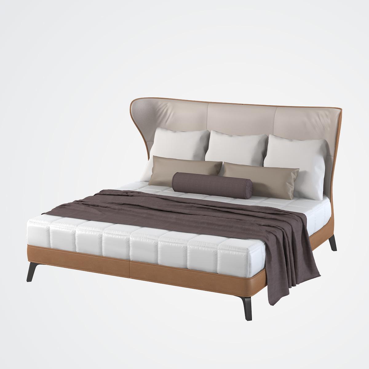 Poltrona Frau Mamy Blue Bed.Poltrona Frau Mamy Blue Bed