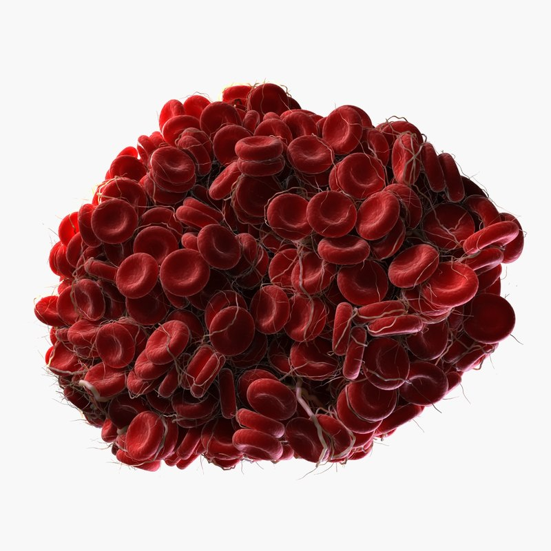 3d blood clot