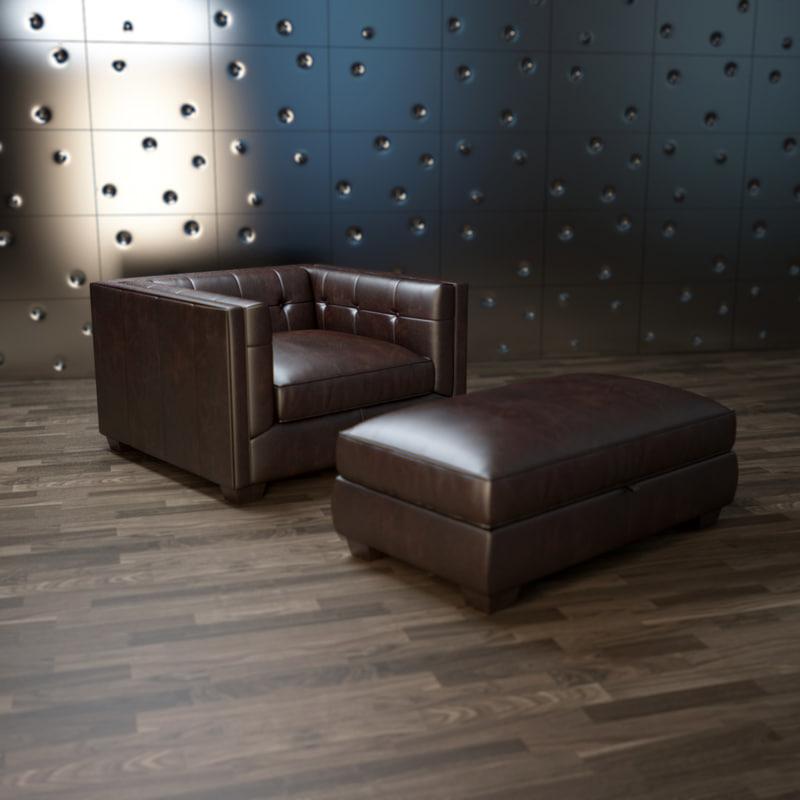 edward-armchair 3d model