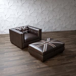 3d model edward-jack-armchair