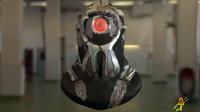 scifi helmet obj free