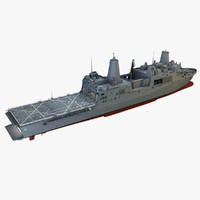 uss new orleans 3d max