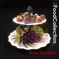 free max model grapes cakes cupcake