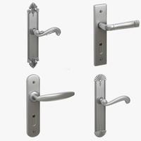 3d model of door knob