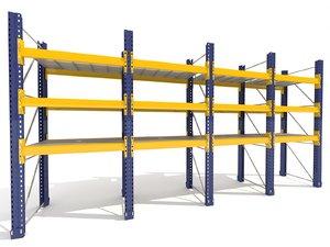 3d warehouse shelves