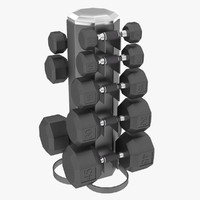 Dumbbell Rack V2
