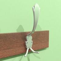 3d hook hanger model