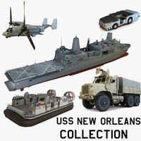 USS New Orleans Collection
