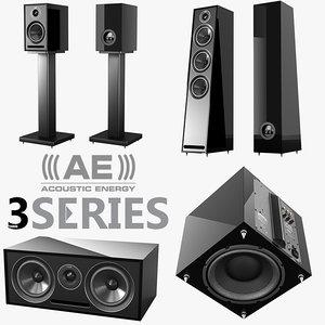 max acoustic energy 3 series