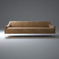 ascot-sofa 3d model