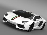 Lamborghini Aventador LP 700 4 Nazionale LB834 2014