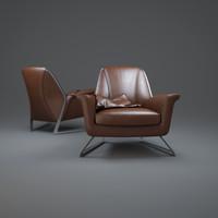 luft-armchair chair 3d max