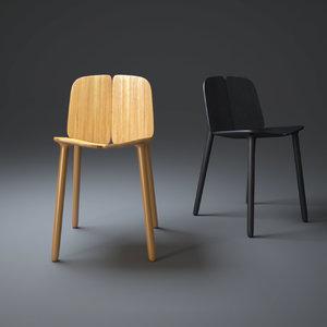 osso-chair 3d obj