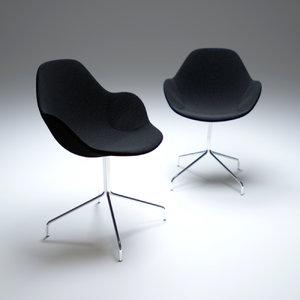 palma meeting armchair 3d model