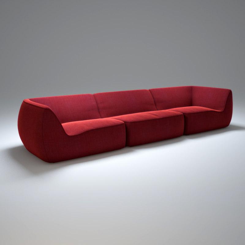 paola-lenti-so-sofa 3d max