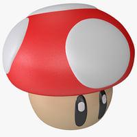 super mario mushroom figure max