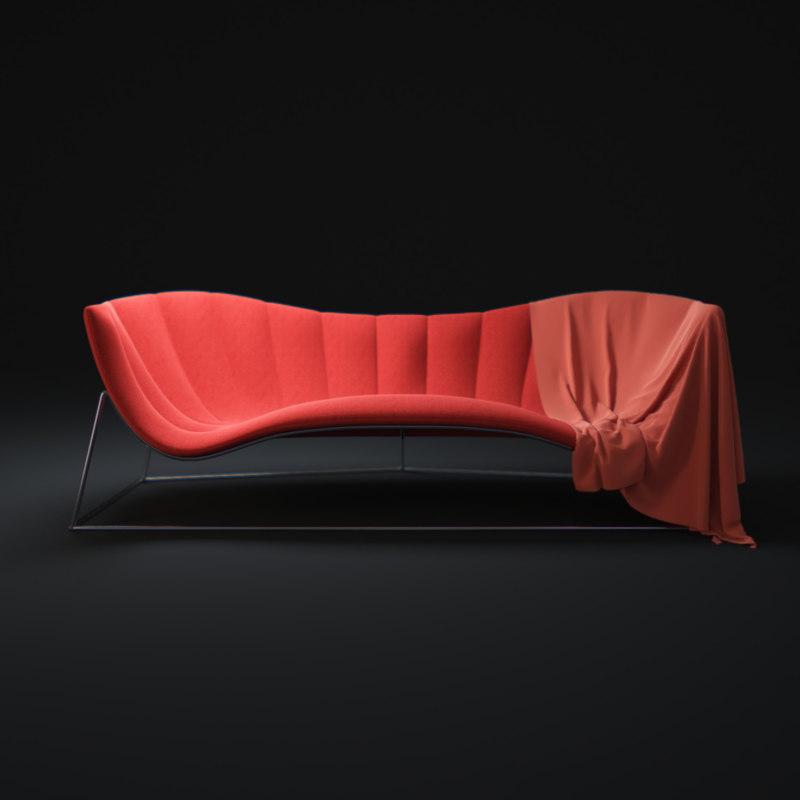 obj calypso-love-sofa